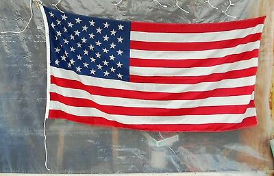 US Flag with Rope Light Weight America Military Defence Army USA Stars & Stripes