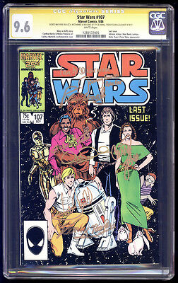 Star Wars #107 SS CGC 9.6 Hamill Fisher Daniels Baker Mayhew Williams McDiarmid+