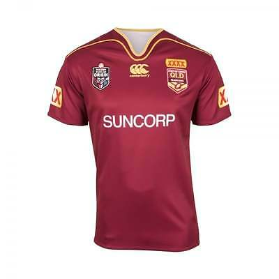 Queensland Maroons State Of Origin Nrl Triple Extra Large Xxxl Jersey Bnwt