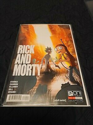 Rick And Morty issue 16 Oni Comic Last Of Us Variant Cover Rare Adult Swim HTF