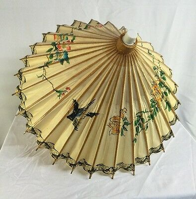 Beautiful Asian Parasol Nearly Perfect Condition - Petite Or Childs