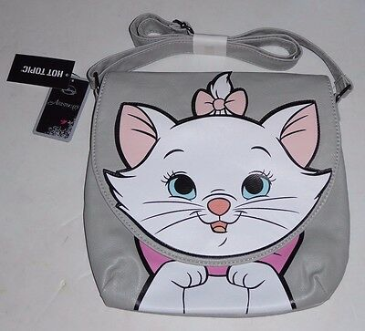 official THE ARISTOCATS women's PURSE marie cat disney loungefly new fast ship