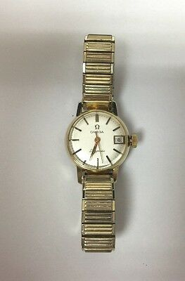Omega Ladymatic Gold filled Watch...RUNS