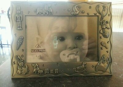 "Malden 4"" X 6"" Baby Picture Frame!!!"