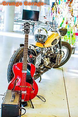 1957 Custom Built Motorcycles Bobber  Low head opposite boxer engine custom bobber