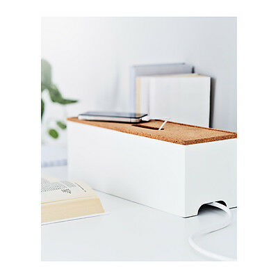 Ikea Smart Cable Box Management Organizer White