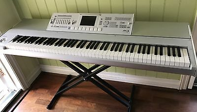 Korg M3 88 Xpanded Synth Audio Workstation Keyboard VGC