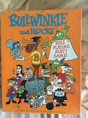 BNIB TSR Role Playing Game: Bullwinkle and Rocky