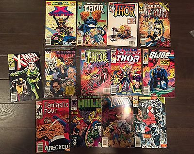 Marvel comics Magazine Lot