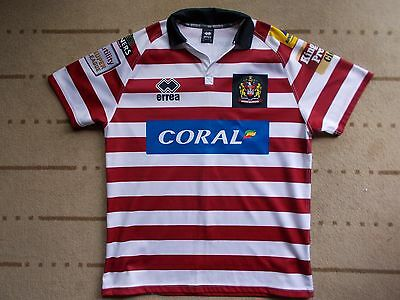 WIGAN rugby shirt shirt...SMITH 7...MINT...large...