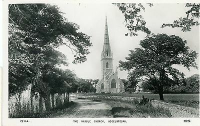 The Marbel Church,bodelwyddan- Real Photo-Postcard,unposted-G