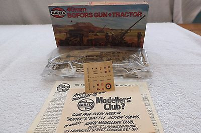 Airfix Oo Scale Bofors Gun And Tractor - Unmade Kit