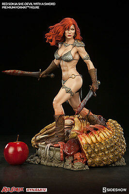 Red Sonja Premium Format Figur Red Sonja She-Devil with a Sword - Sideshow