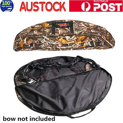 115cm Camo Compound Bow Arrow Holder Archery Backpack Bag for Outdoor Hunting