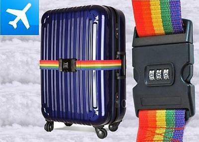 ASHLEY Luggage Strap with Combination Lock- FAST SHIPPING