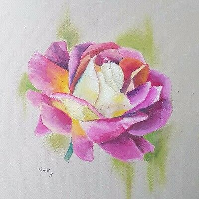 This Mortal Coil Tattoo Rose Day original art, by Beany Simner