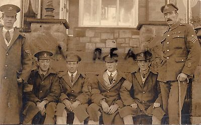 WW1 Wounded soldier group MGC Suffolk Regiment Norfolk Regiment KRRC RAMC
