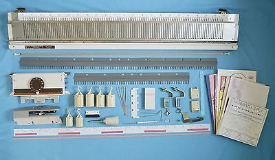 Knitmaster / Empisal SR - 150 chunky knitting machine RIBBER & ACCESSORIES