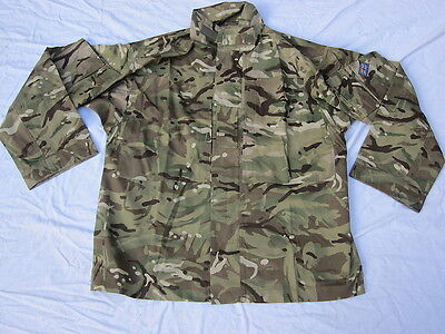 Jacket Combat Temperate Weather,MTP,Multi Terrain Pattern,Size 190/120, Multicam