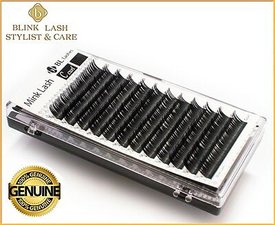BL LASHES ( Blink ) Mink Tray Lash C Curl - Eyelash Extensions