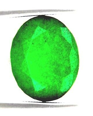 10 Ct Certified Emerald In Excellent loose Ovel Shape