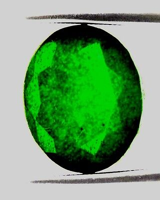 10.5 Ct Certified Emerald In Excellent loose Ovel Shape