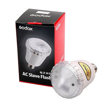 Godox A45S Studio E27 Screw AC Slave Flash Strobe Light Bulb 220V 230V