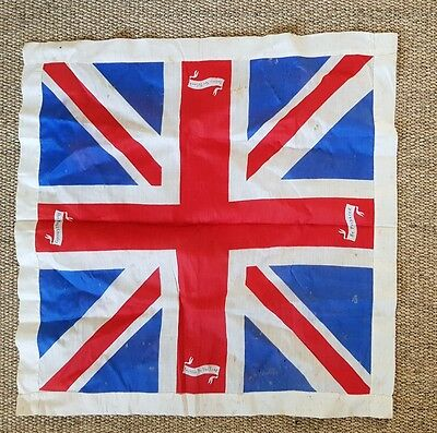 WW1 Patriotic Union Jack Scarf possible Scouting Interest