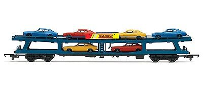 Hornby RailRoad Car Transporter with 6 Cars R6423