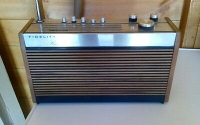 Vintage Fidelity Rad 15 from the 1970's