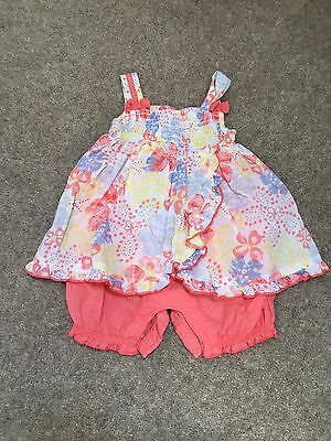 Baby Girl 0-3 Romper Suit For Summer