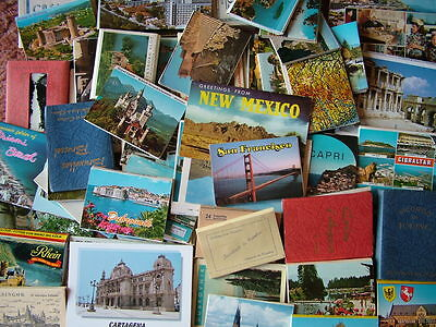 Box / Bulk Lot of 160+ Foreign/Overseas LETTERCARDS, VIEW CARDS, STRIP CARDS.