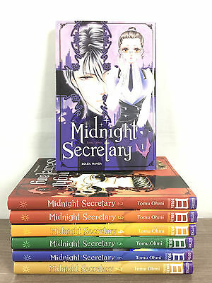 Midnight Secretary Lot Mangas Tomes 1 à 7 / L'INTEGRALE Collection Complète