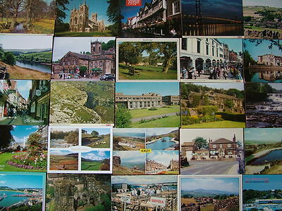 100 Unused Postcards of YORKSHIRE.  Good condition. 1960's onwards.