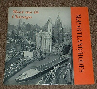 JIMMY McPARTLAND*ART HODES meet me in chicago 1960s UK WRC MONO LP