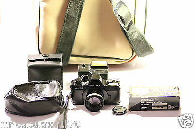VINTAGE Pentax Auto 110 Film Camera + 1:2.8 24mm Lens