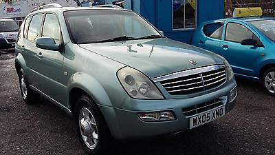 2005 Ssangyong Rexton 2.7TD RX 270 SE, One Owner from New, 4 x 4