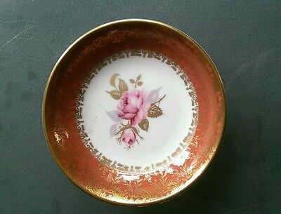 Small aynsley fine bone china plate/saucer