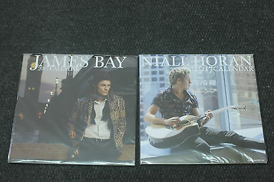 James Bay and Niall Horan 2017 Calenders