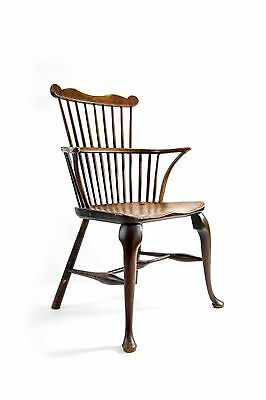 Georgian Comb back Thames Valley Windsor chair