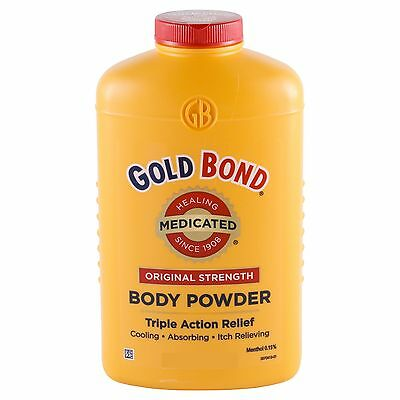 Gold Bond Body Powder Lanacane Alternative Triple Action Medicated Healing Talc