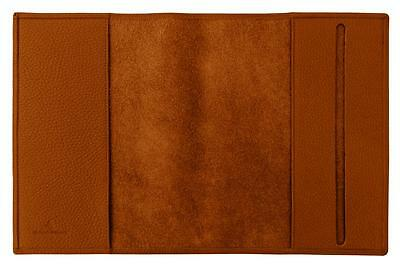 Carpe Diem A5 Cover a libro Derby Fashion Pelle marrone
