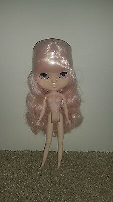 """Nude Factory 12"""" Icy Jecci 5 doll with light pink hair UK SELLER"""