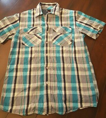 Men's Element Short Sleeve Button Down Shirt Size Small Good Condition