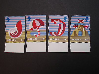1975, sg 124 - 127, Welcome to Jersey,MNH