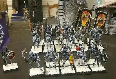 Warhammer age of sigmar skeleton warriors skeleton horsemen