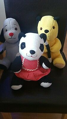 Sooty, Sweep and Sue teddy collection