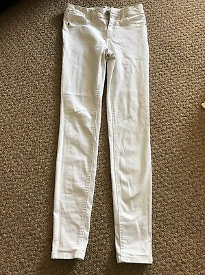 Size 8 White Skinny Jeans New Look