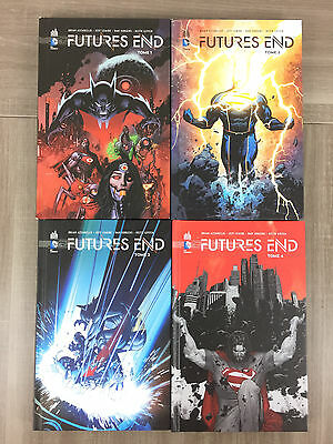 Futures End Lot 4 Comics Tomes 1 2 3 4 L'INTEGRALE Collection Complète DC Future