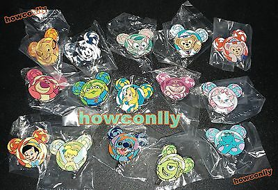 Disney Hong Kong HKDL Pin-2017 Lollipop Collection-15 Full set - Stitch/Marie